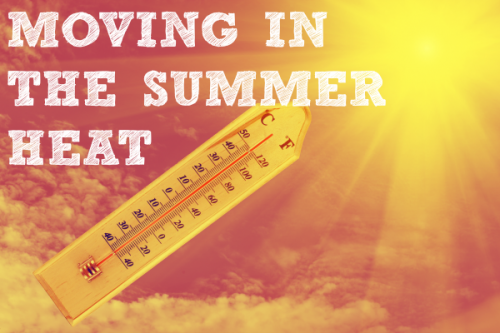 Why you should hire movers when moving in summer