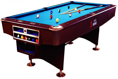 The proper way of moving a pool table