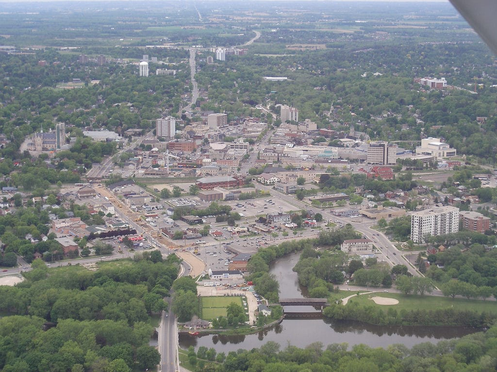 Downtown Guelph - best moving company