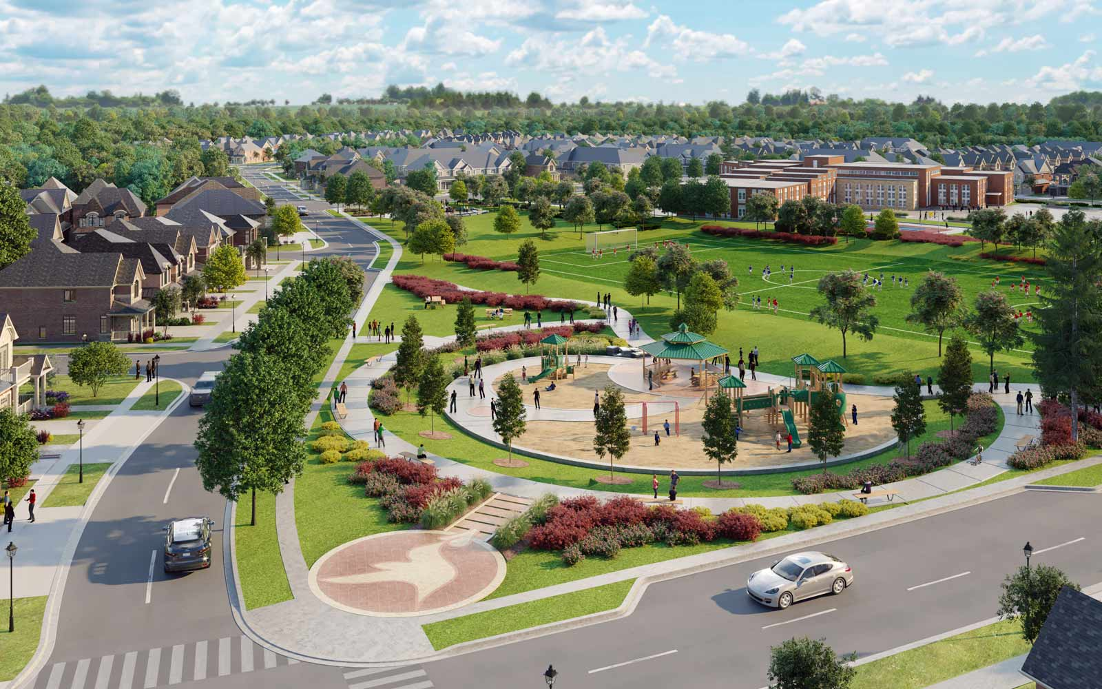 Park New Home Community Pickering Ontario New Seaton Brookfield Residential