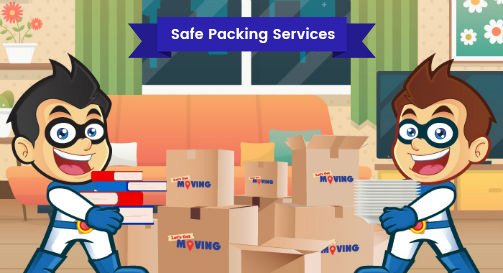 Safe Packing Services Lets Get Moving Canada